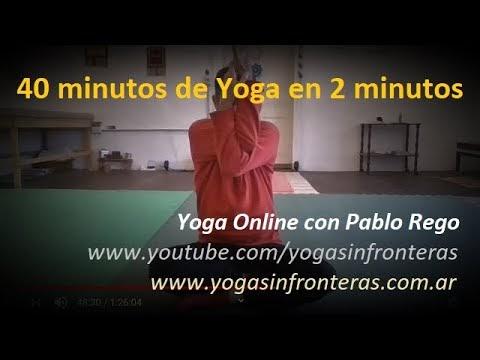 40 minutos de Yoga en 2 Minutos.