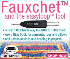 The Easyloop Fauxchet Yarn Tool 300x250