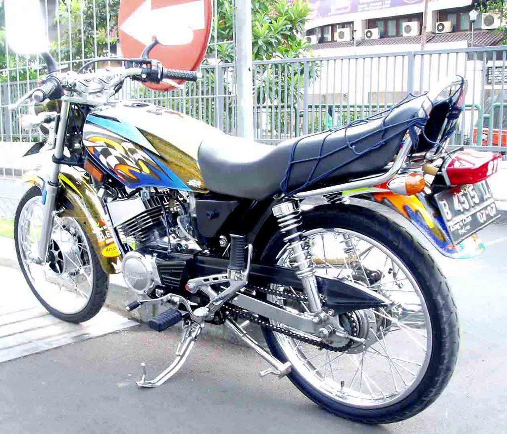 Gambar Motor Variasi Modifikasi Motor Terbaru