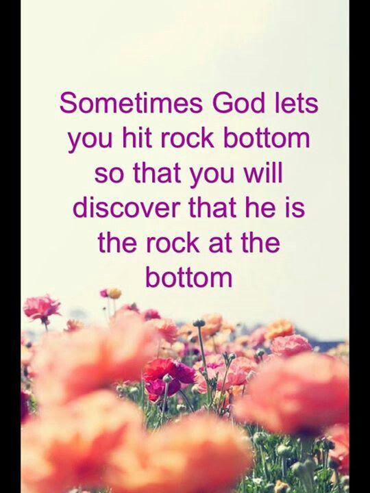 Quotes About Hitting Bottom 48 Quotes