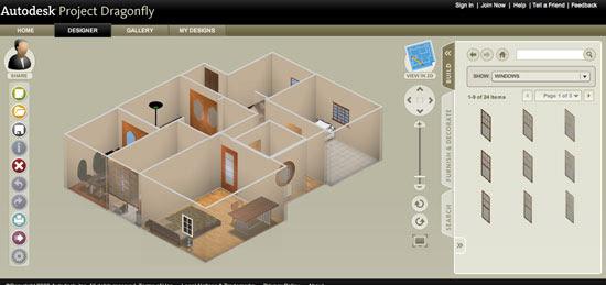 Autodesk Dragonfly Online Home Design Software