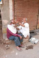 The Muslim Street Barber .. by firoze shakir photographerno1