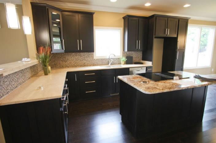 Idea 36 Java Shaker Kitchen Cabinets