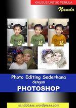 Gambar ebook Photo Editing Sederhana dengan Photoshop