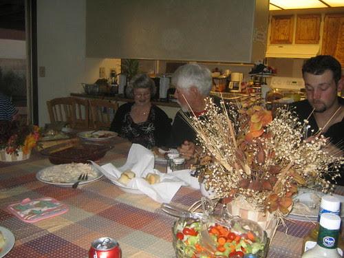 Gram sneaking Joey food