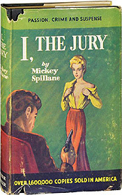 Mike Hammer, created by Mickey Spillane