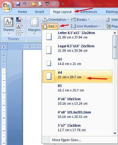 Cara Mengatur Ukuran Kertas Pada Microsoft Word - Berbagai ...