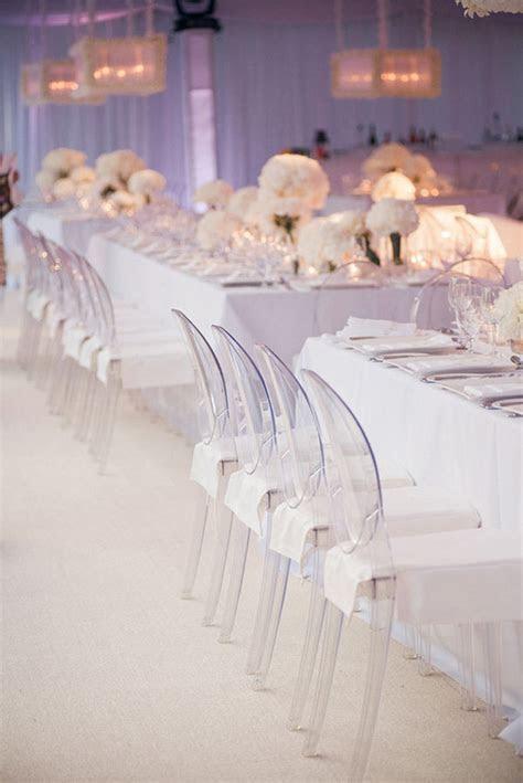 All White Wedding Decor   Belle The Magazine