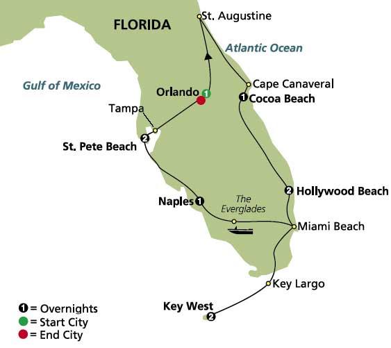 Highlights Of Sunny Florida Tour Globus Cosmos