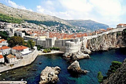 город Дубровник в Хорватии