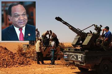 Former US Congressman Fauntroy witnessed European special forces beheading people in Libya. He is telling his story to the press after escaping from the North African state now under siege by the US-NATO forces. by Pan-African News Wire File Photos