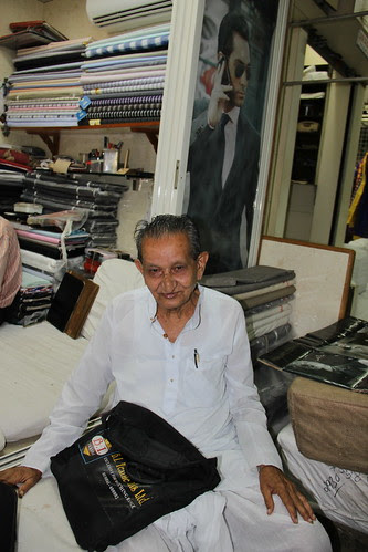 Soma Bhai Co Founder of MJ Cloth Market 1935 by firoze shakir photographerno1