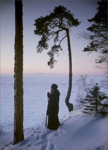 Winter on Svyatoy (Holy) Island by Hieromonk Savvaty (Valaam Monastery)