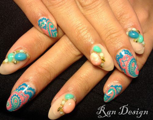 18 Best Spring Nail Art Designs Ideas Trends Stickers 2015 3 18 Best Spring Nail Art Designs, Ideas, Trends & Stickers 2015