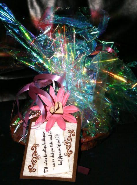 Snopeposen med tag og småkaker i folie