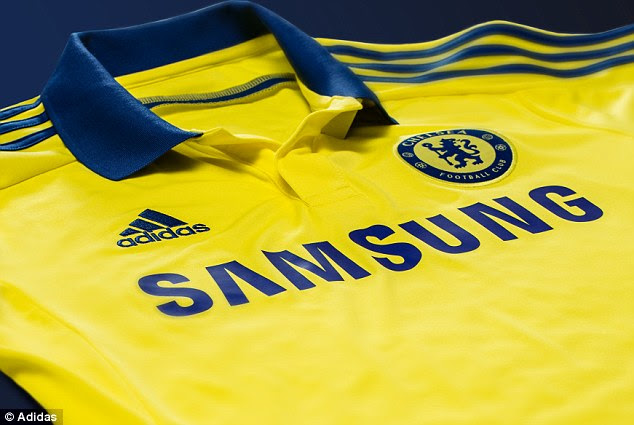 Throwback: The kit will be seen by the club's fans as return to their more traditional change colour