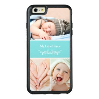 Elegant Chic Baby Kids Photo Collage OtterBox iPhone 6/6s Plus Case