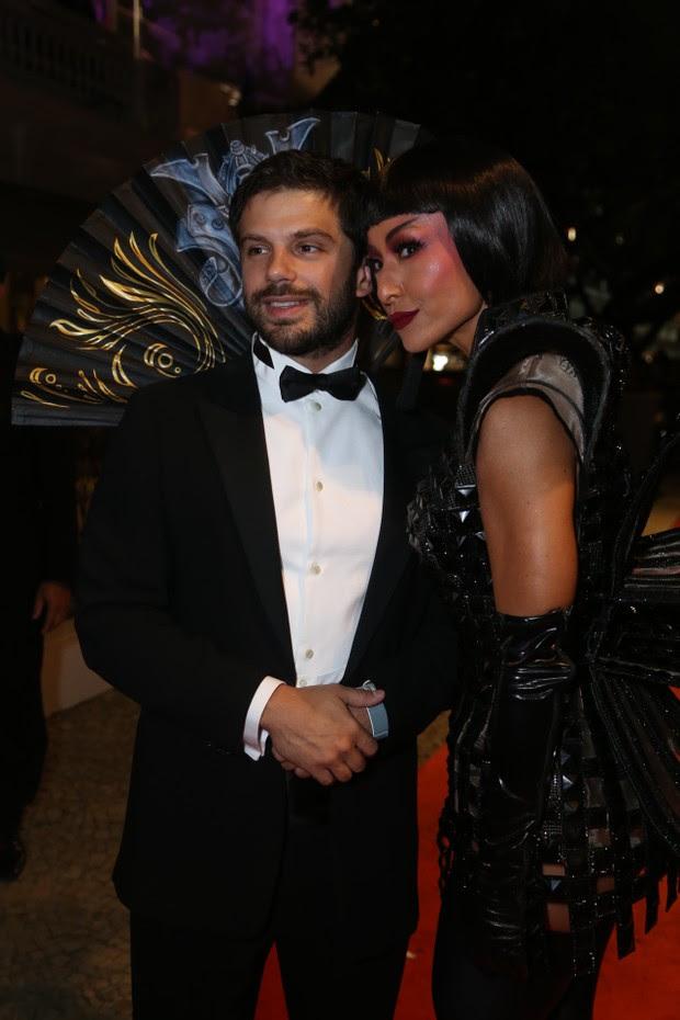 Sabrina Sato e Duda Nagle no Baile do Copa (Foto: Anderson Borde / agnews)