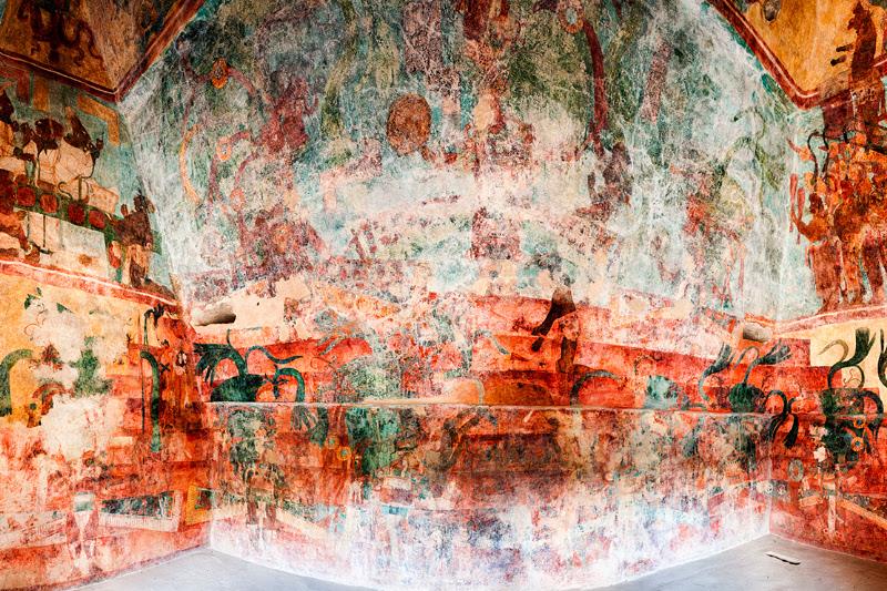 Los Murales De Bonampak