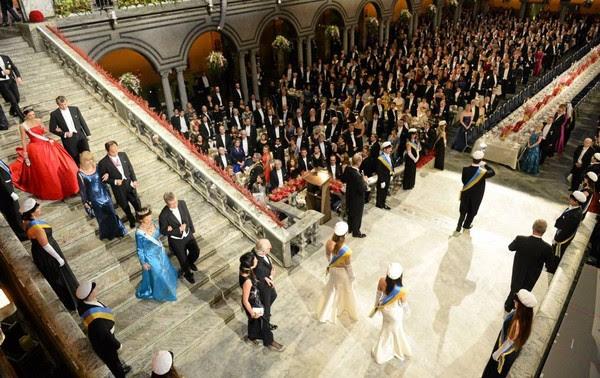 Królewskie Szwedzi i 2014 uroczystości Nobla