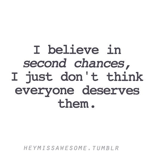Second Chance Quotes Sayings Second Chance Picture Quotes