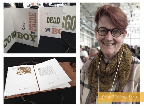 Codex International Book Fair: Rebecca Chamlee