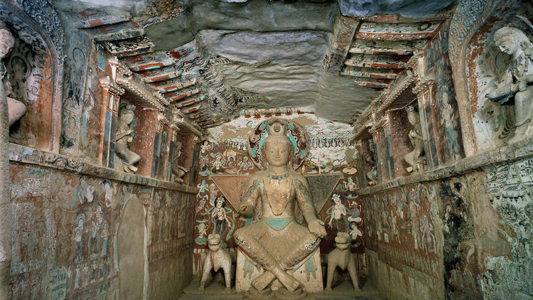 'Cave Temples of Dunhuang' at the Getty Museum wants to transport you to China's Silk Road