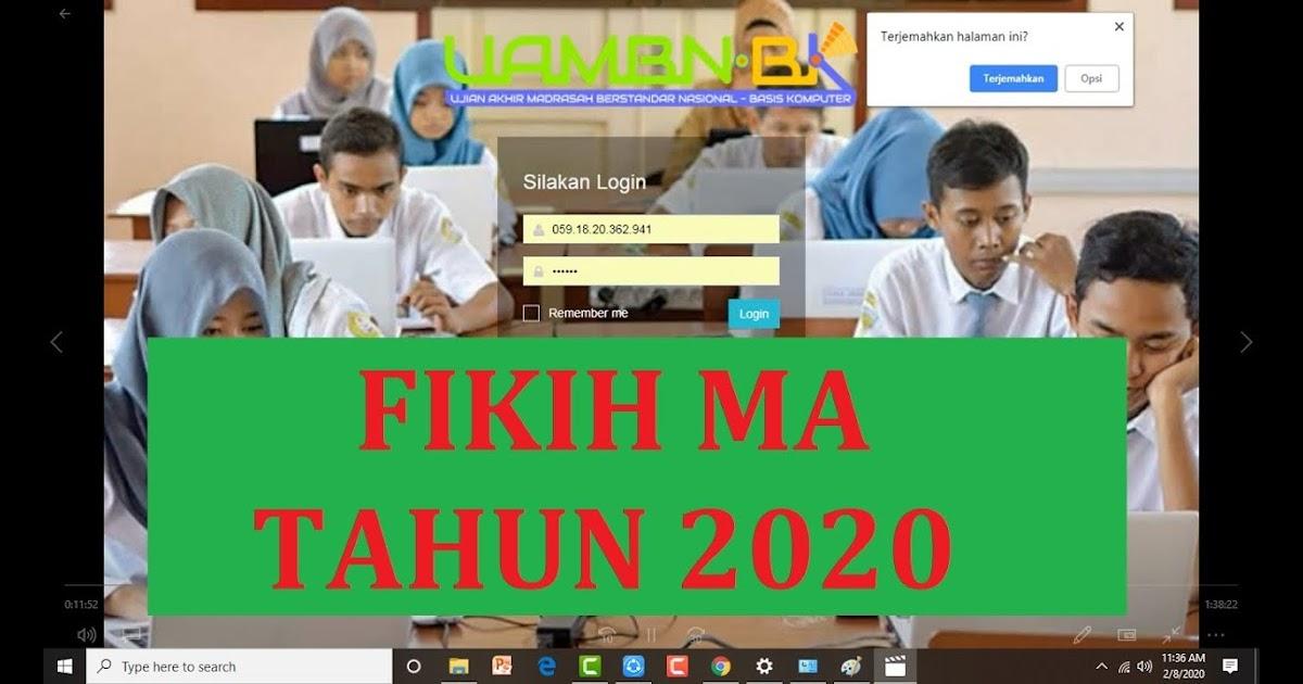 Soal Uambn Bk 2019 Al Quran Hadis - Guru Ilmu Sosial