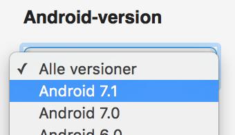 Risultati immagini per android 7.1