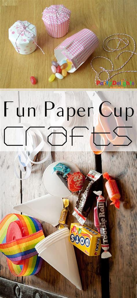 crafty ways   paper cups   build