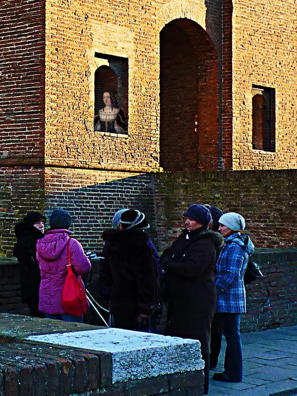 Lucrezia Borgia nel castello di Ferrara