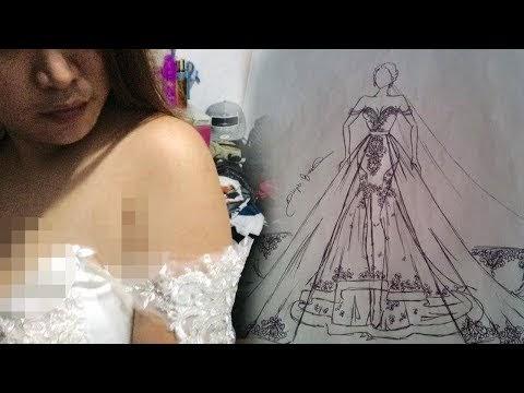 Maunya Nikah dengan Gaun Pengantin Wah Seharga Rp 22 Juta: Tapi Hasilnya?