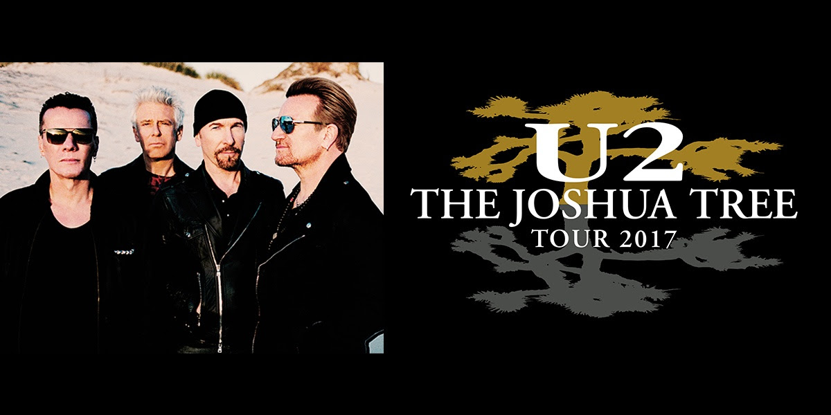 Image result for u2 joshua tree tour 2017