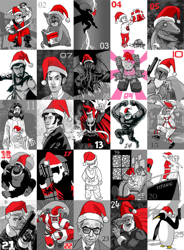 2009 Advent Calendar of Awesomeness FINAL