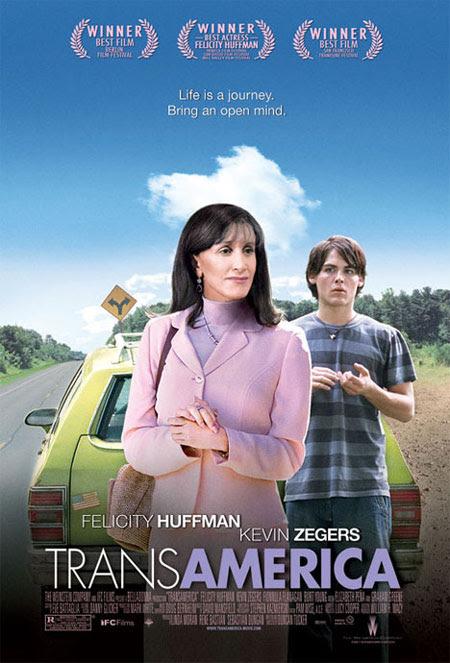 Cartel de la película Transamérica.