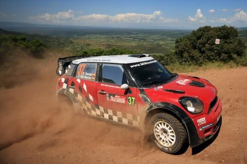 MINI WRC Makes UK Debut At Cornbury Park Cornbury Park MINI 2