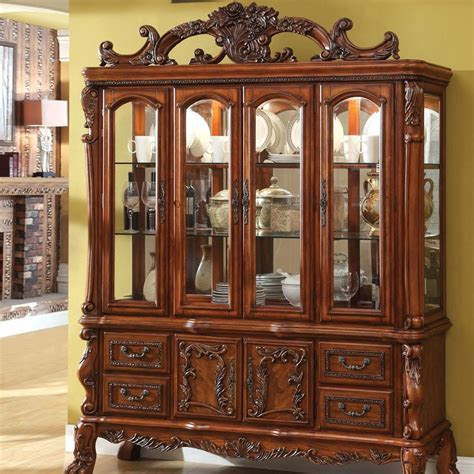 Cabinets: Fascinating China Cabinets And Hutches Design China Hutch, Corner China Cabinets And
