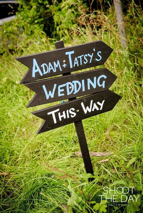 The 25  best Wedding direction signs ideas on Pinterest