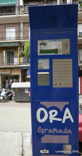 Parquímetro - ORA Granada