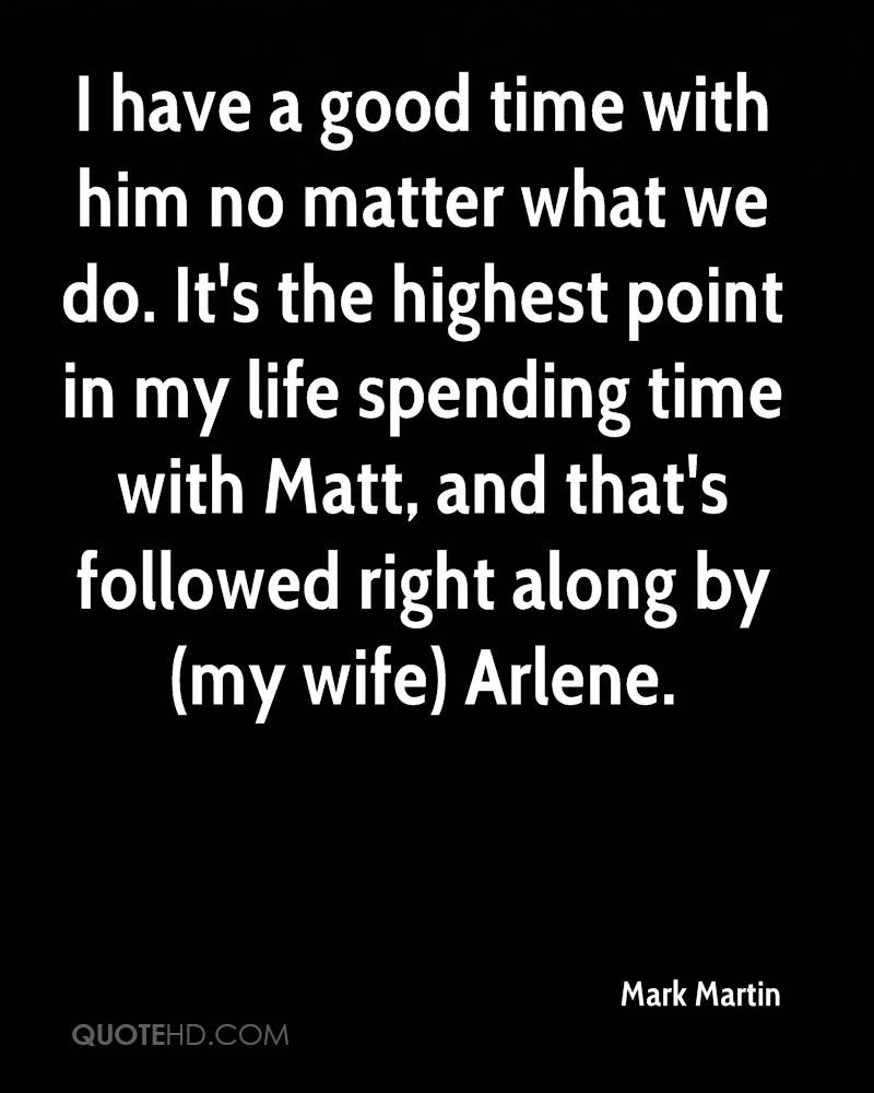 Mark Martin Wife Quotes Quotehd