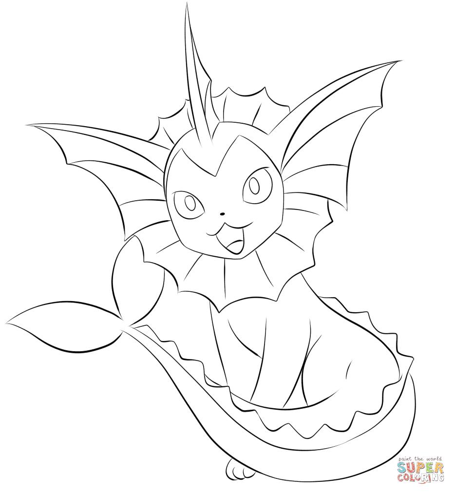 er sur la Pokémon Aquali coloriages pour visualiser la version imprimable ou colorier en ligne patible avec les tablettes iPad et Android