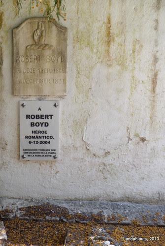 Tumba de Robert Boyd