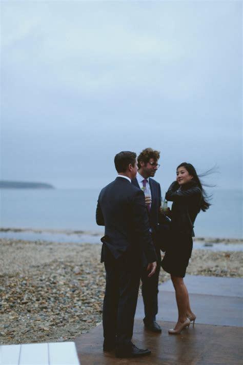 Hyeyoon & Paul   Montauk Wedding   Navy Beach