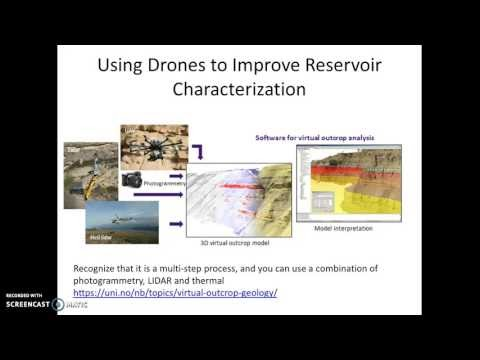 Drones for Surveys, Methane Detection, Reservoir Characterization, More