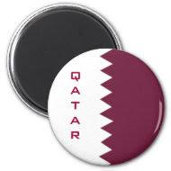 qatari flag magnet