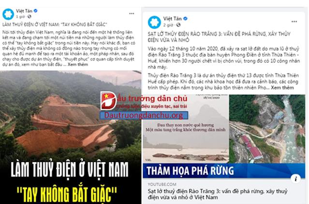 Những tiếng kêu gào vô căn cứ về 'thủy điện' gây  nên lũ lụt ở miền Trung