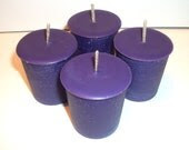 Dragons Blood Scented Soy Votive Candles Set of 4 - CosmicCauldron