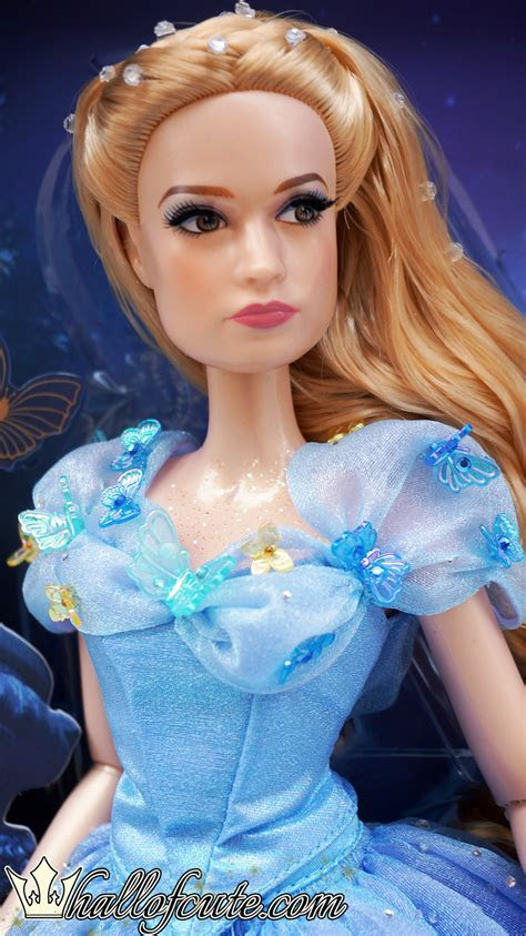 "Limited Edition Cinderella Live Action Film 17"" Doll by"