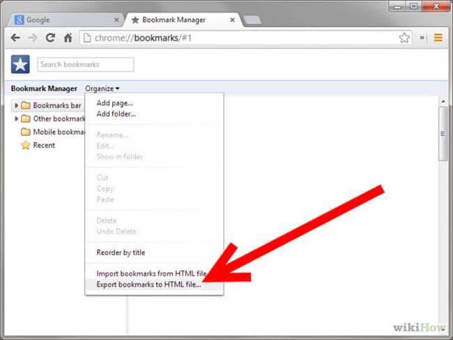 Hvordan til Backup bogmærker på Android telefon nemt