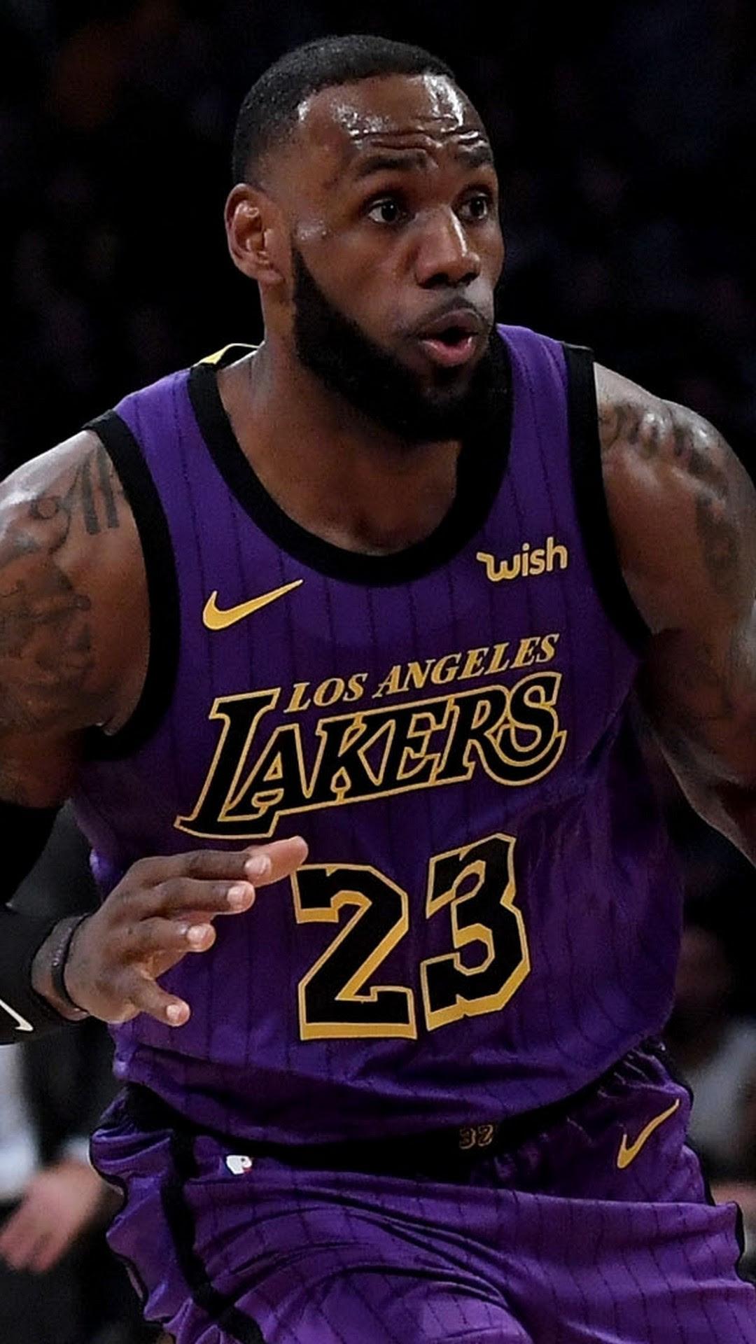 LeBron James LA Lakers Wallpaper iPhone HD | 2019 ...